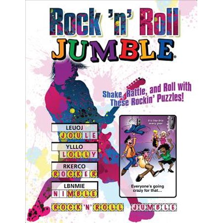 Rock 'n' Roll Jumble® : Shake, Rattle, and Roll with These Rockin' Puzzles!](Halloween Word Jumbles)