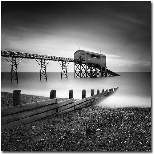 "Trademark Art ""Selsey, Lifeboat Stations"" Canvas Art by Nina Papoirek"