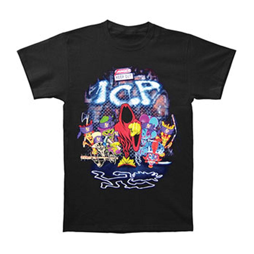 Insane Clown Posse Men's  Gang Of Detroit T-shirt Black