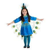 Proud Peacock Costume - Size Toddler 2