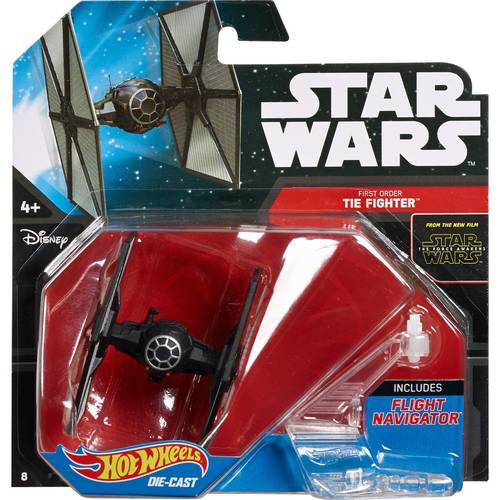 Hot Wheels Star Wars Starships Tie Fighter - Walmart com
