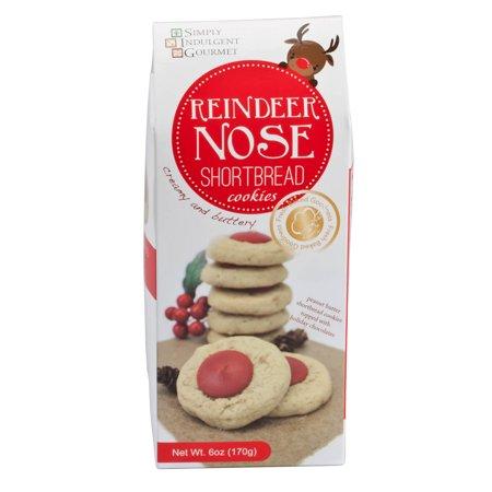 Reindeer Nose Peanut Butter Cookies 6 Oz