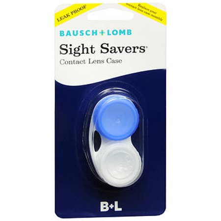 Bausch & Lomb Bausch & Lomb Sight Savers Contact Lens Case, 1 ea (Monster Contact Lenses For Eyes)