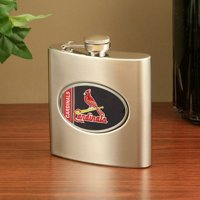 St Louis Cardinals Stainless Steel Flask - No Size