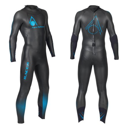 Aqua Sphere Powered Racer Wet Suit  Black Blue  Small