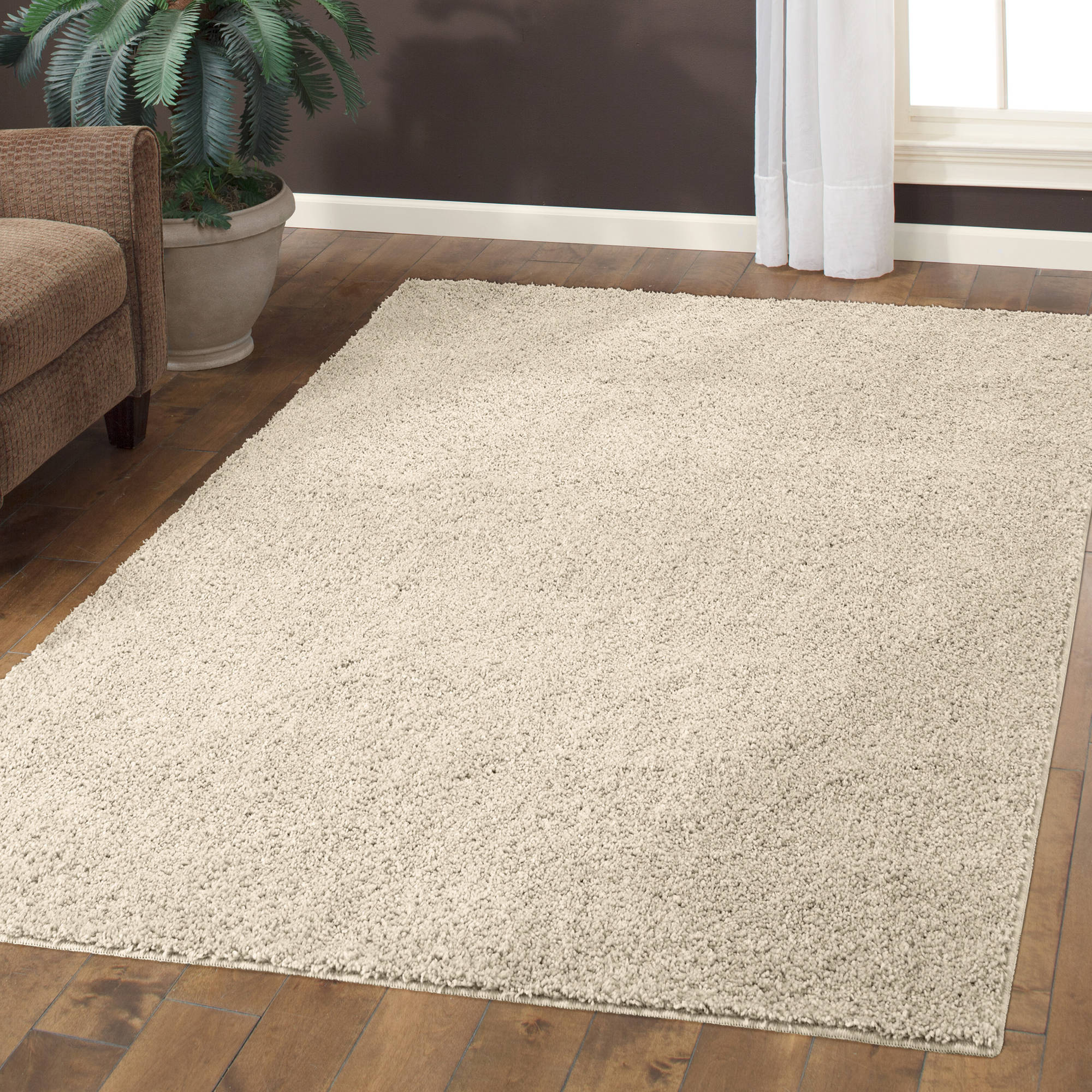 Mainstays Manchester Shag Rug Available In Multiple Sizes And  Colors