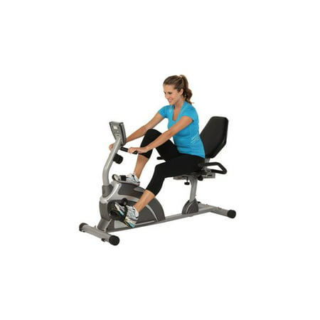 - Exerpeutic Heavy Duty Magnetic Recumbent Bike with Pulse