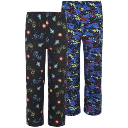 Micro Fleece Sleep Pants Value 2 Pack (Little Boy & Big Boy) - Little Boys Christmas Pajamas