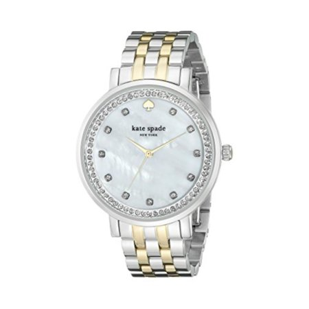 Women S 1yru0823 Monterey Two Tone Bracelet Watch With Crystals