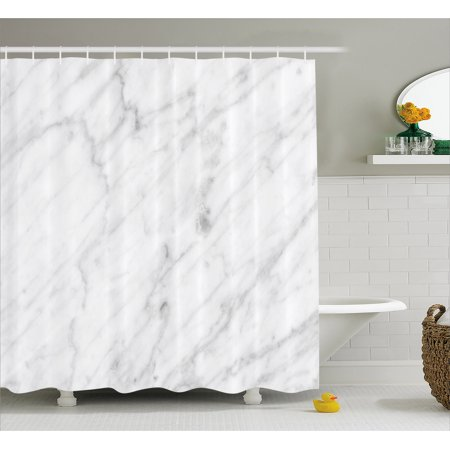 Marble Shower Curtain Carrara Tile Surface Organic Sculpture Style Granite Model Modern Design