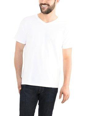 0e6abaf5 Product Image Fruit of the Loom Men's Platinum Eversoft Short Sleeve V Neck  T Shirt, up to