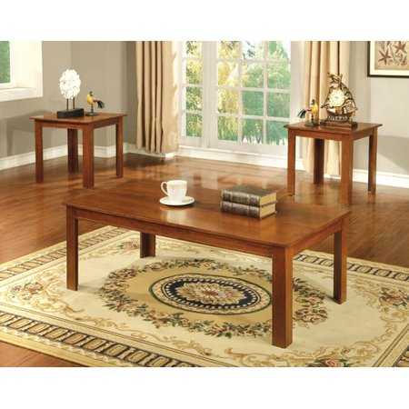 hokku designs kaldi 3 piece coffee table set. Black Bedroom Furniture Sets. Home Design Ideas