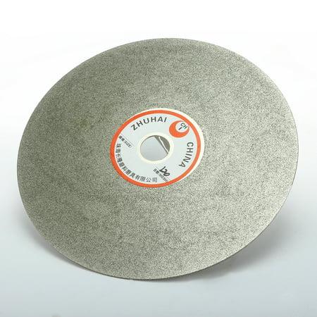 6-inch Grit 120 Diamond Coated Flat Lap Wheel Grinding Disc