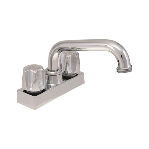 ProPlus Double Handle Deck Mounted Laundry Tub Faucet Trim by Proplus
