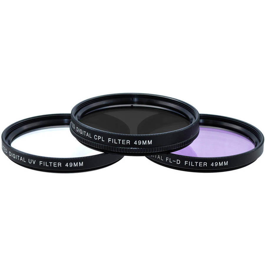 XIT Digital Multi-Coated 49mm Filter Set