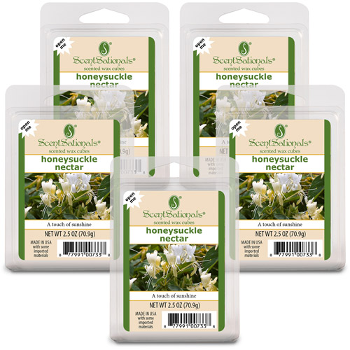 ScentSationals Wax Cubes, Honeysuckle, 5pk