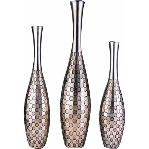ORE Furniture 3 Piece Polkadot Vase Set