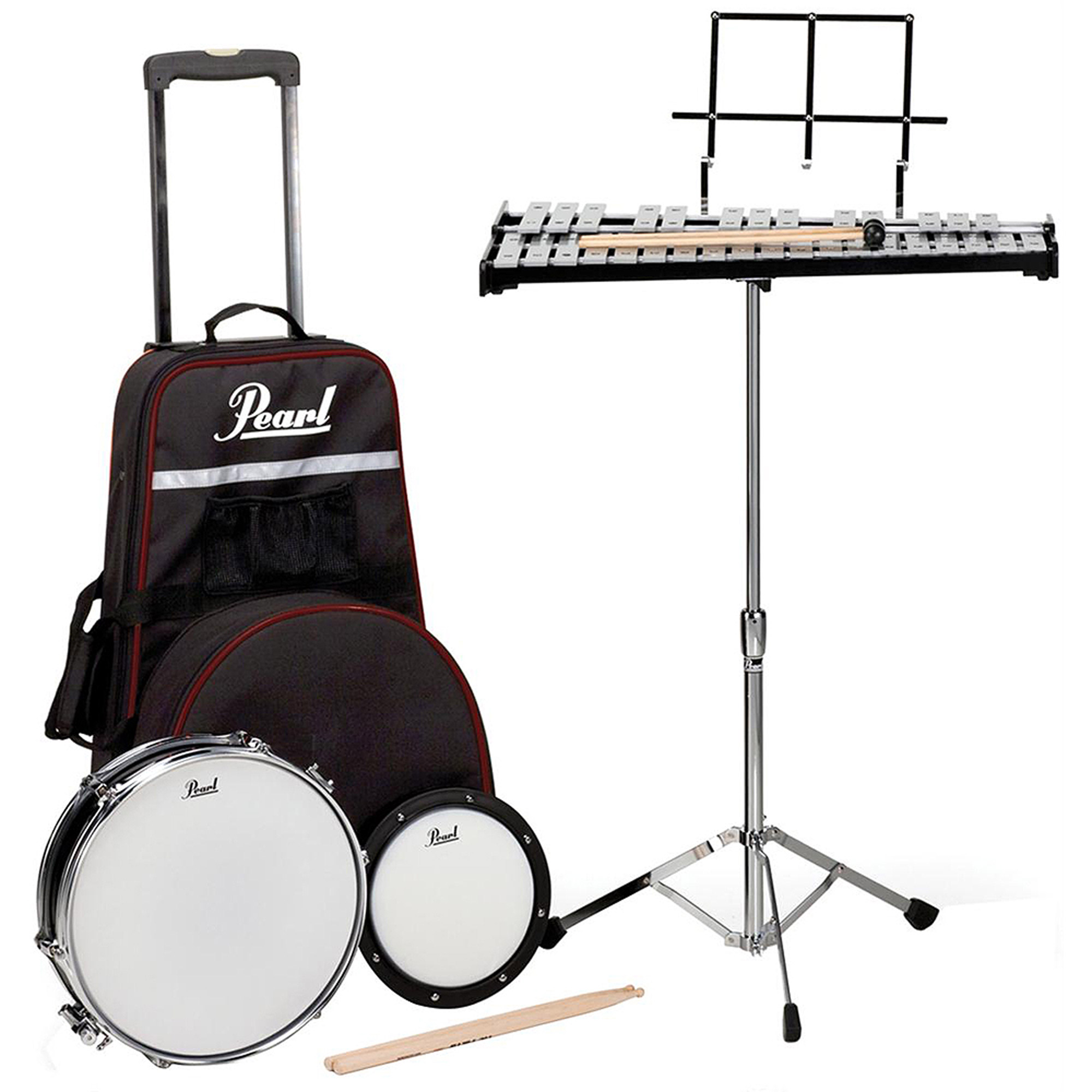 Pearl PL900C Educational Snare Drum/Bell Kit