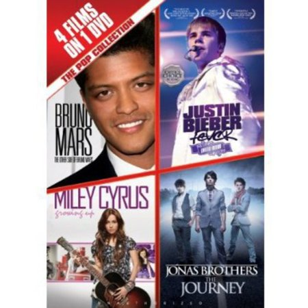 The Pop Collection  Bruno Mars   Justin Bieber   Miley Cyrus   The Jonas Brothers