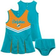 NFL Miami Dolphins Girls Cheerleader Set