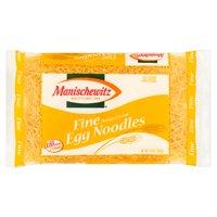 (4 Pack) Manischewitz Fine Egg Noodles, 12 oz