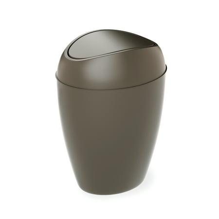 Umbra Twirla 2.2 Gallon Bathroom Trash Can with Lid