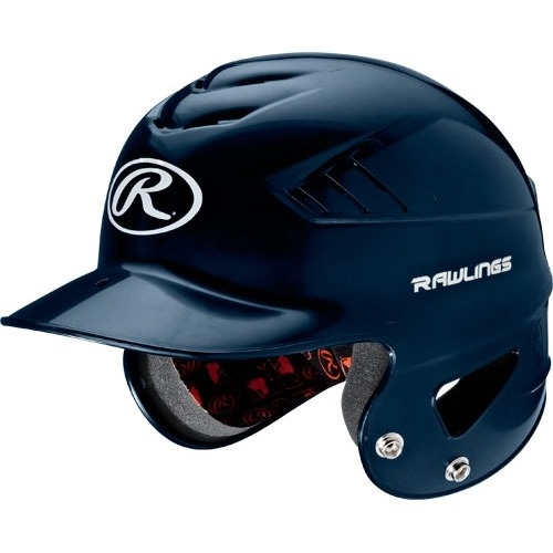 Rawlings RCFH Coolflo Baseball Batting Helmet Navy 6 1/2 - 7 1/2