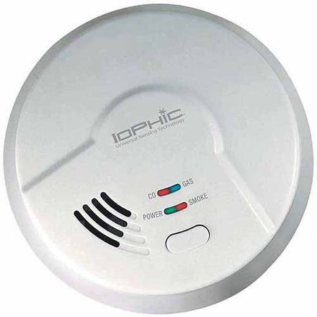 Universal Security Instruments MDSCN111 4-in-1 IoPhic Smoke, Fire, CO and Natural Gas Smart Alarm