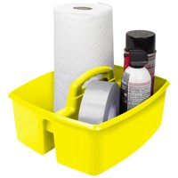 Storex 6 pack Classroom Art and Supplies Large Caddy, multiple color options