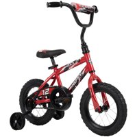 "Huffy 12"" Rock It Boys' Bike for Kids, Crimson Red"