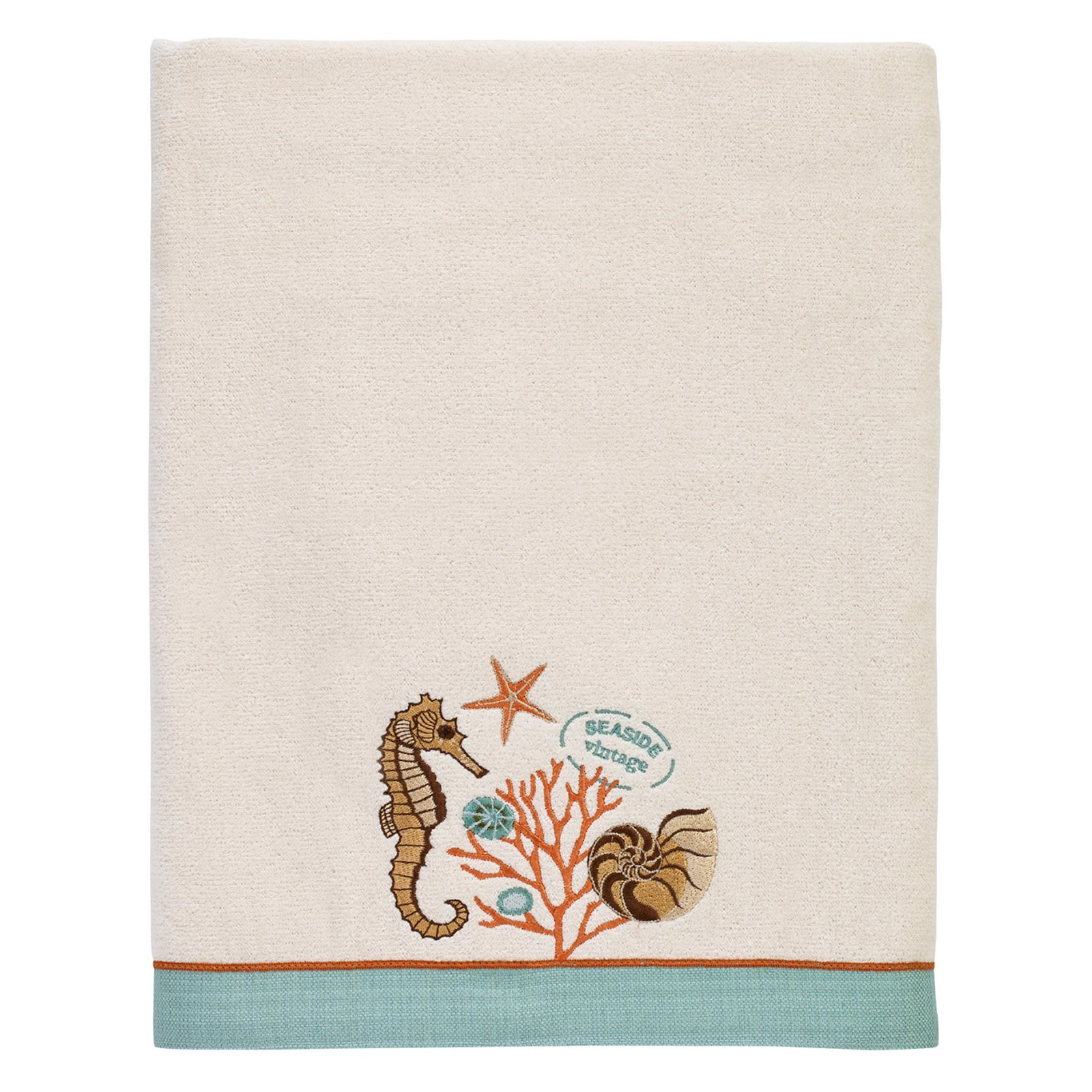 Avanti Seaside Vintage Bath Towel by Avanti Linens Inc