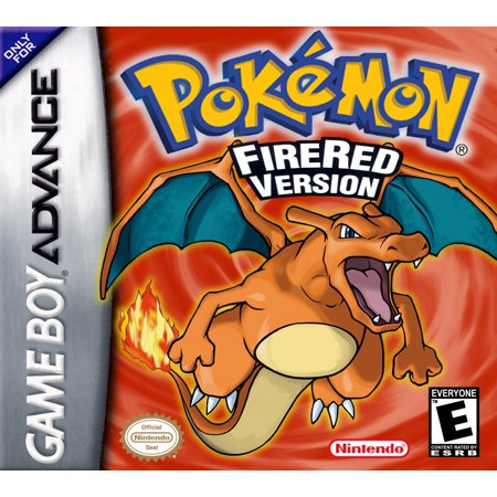 Pokemon FireRed - Nintendo Gameboy Advance GBA