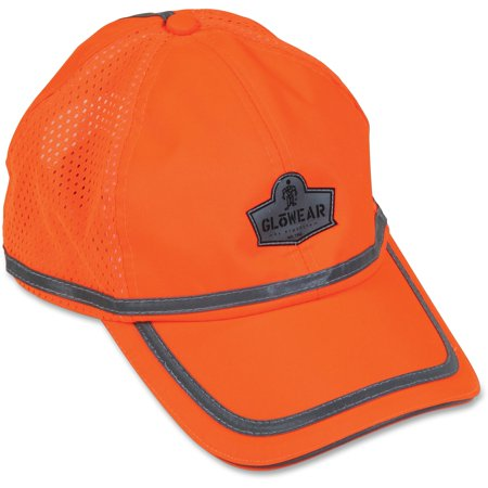 GloWear, EGO23238, Class 2 Hi-Vis Baseball Cap, 1, Orange