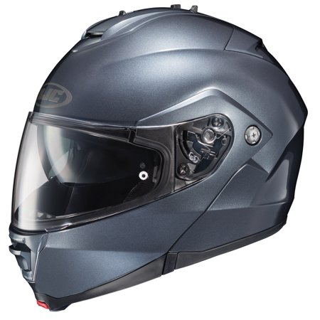 HJC IS-Max II Solid Helmet Semi Flat Anthracite (Gray,