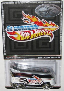 VW DRAG BUS Hot Wheels 2012 Mexico Convention 1 of 4000 Made RARE Limited Edition 1:64 Scale Collectible Die... by Mattel