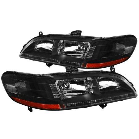 Spec-D Tuning 1998-2002 Honda Accord Jdm Headlights Head Lamps 1998 1999 2000 2001 2002 (Left + Right)