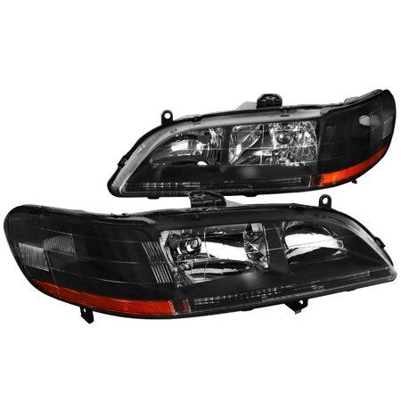 - Spec-D Tuning 1998-2002 Honda Accord Jdm Headlights Head Lamps 1998 1999 2000 2001 2002 (Left + Right)
