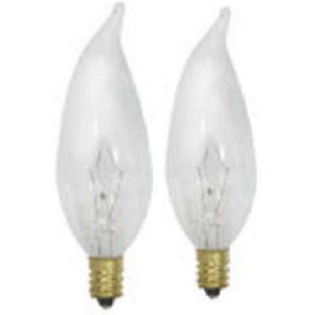 Globe Electric 70205 Decorative Incandescent Light Bulb Clear 60
