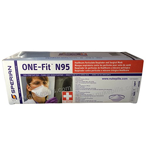 MERS Protection N95 Face Masks Particulate Respirators by NBCPrep