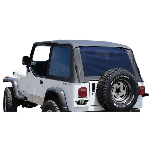 Rampage 109435 Soft Top For 1992 1995 Jeep Wrangler Yj Walmart Com Walmart Com