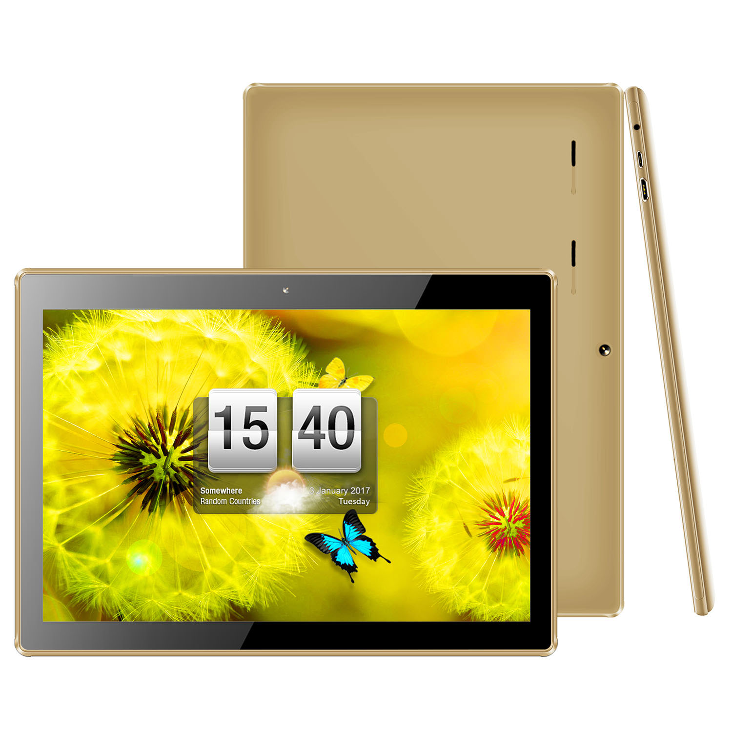 KOCASO MX1086 Tablet (Gold)