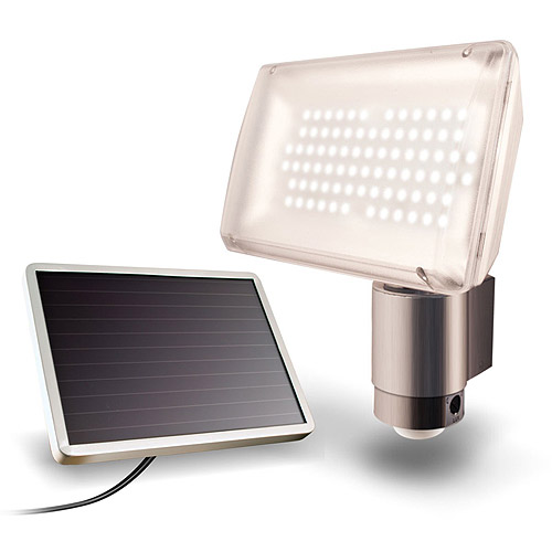 Maxsa Innovations 40227 Solar-Powered Aluminum 80 LED solar Security Light