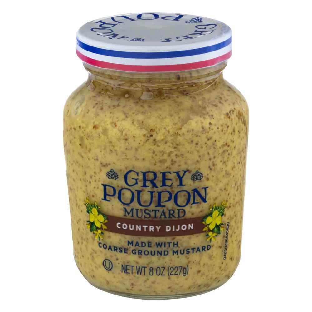 Grey Poupon Country Dijon Mustard, 8 oz