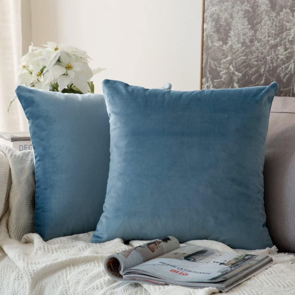 50*50cm Warm Velvet Cushion Pillow Cover Sofa Throw Pillowcase  Home Decorative