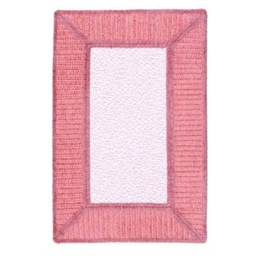 Gravel Bay - GM21 Soft Pink Braided Rug