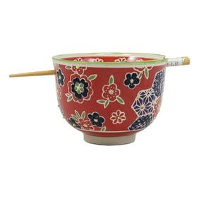 Ebros Whimsical Ceramic Pink Lucky Meow Cat Ramen Noodle Bowl And Chopsticks Set Walmart Com Walmart Com