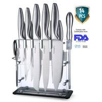 LivingKit Farberware Kitchen Knife Cutlery Set-14 Piece Steak Knives set