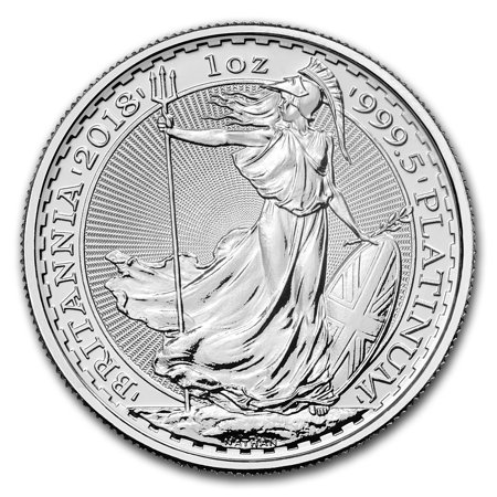 2018 Great Britain 1 oz Platinum Britannia BU