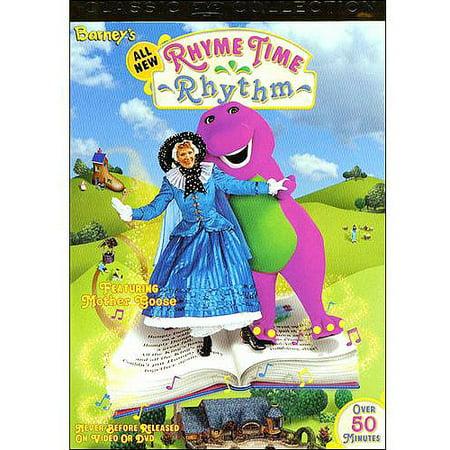 Barney S All New Rhyme Time Rhythm Walmart Com