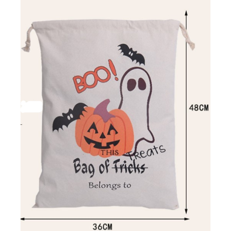 CBD Halloween Bags Trick Or Treat Candy Bags Drawstring Gift Sacks Pumpkin Bags for Halloween Presents-S05](Trick Or Treat Halloween Pumpkin)